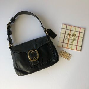 Limited edition Coach Bleecker Black Leather Bag